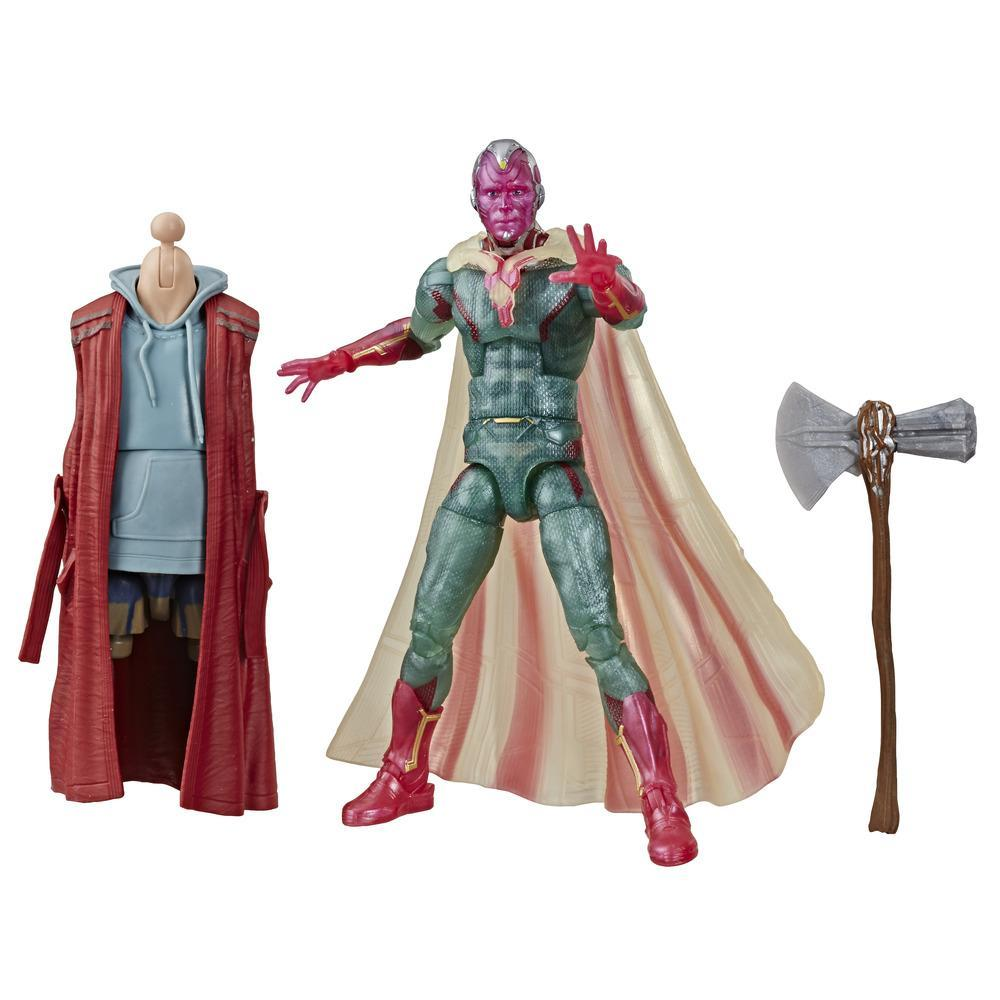 Marvel Legends Series Captain America: Civil War 6-inch Collectible Action Figure Marvel's Vision Avengers Collection