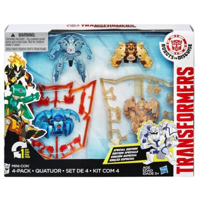 Transformers Robots in Disguise Mini-Con 4-Pack