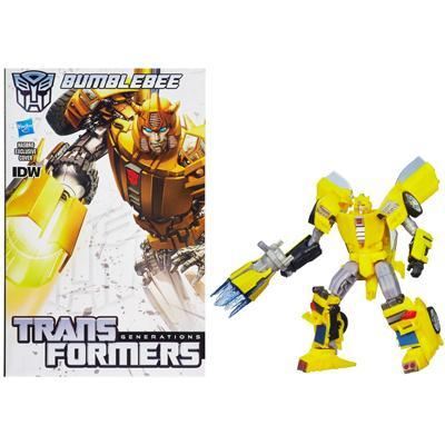 Transformers Generations Deluxe Class Bumblebee Figure