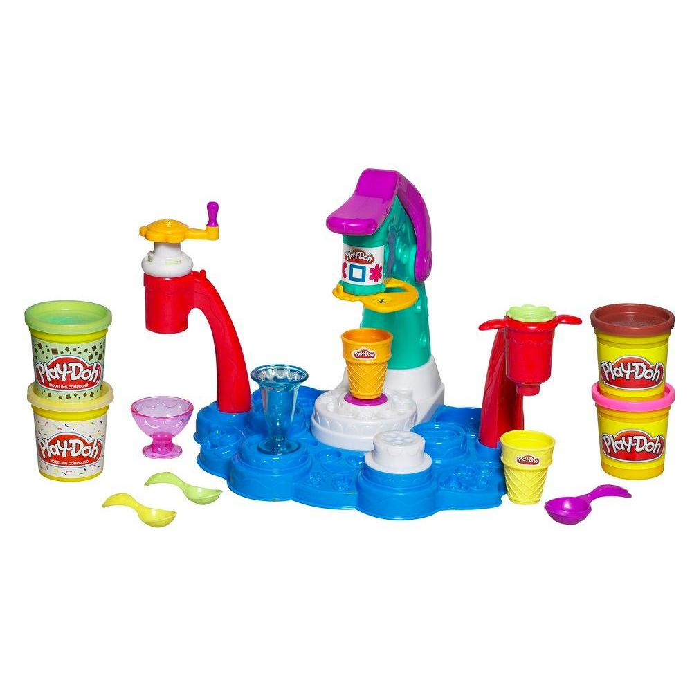 PLAY-DOH SWEET SHOPPE MAGIC SWIRL Ice Cream Shoppe Playset
