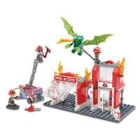 Kre-O CityVille Invasion Fire Station Dragon Attack Construction Set