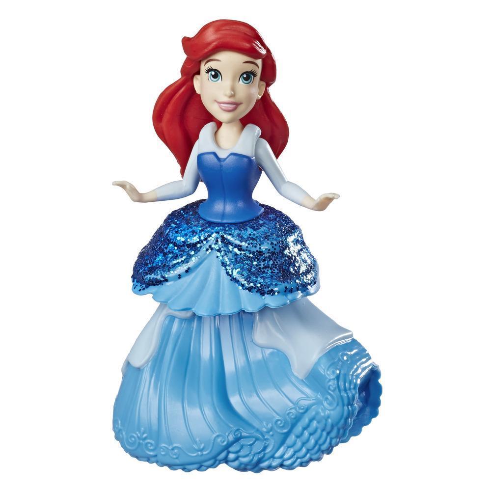 Disney Princess Ariel Doll with Royal Clips Fashion, One-Clip Skirt