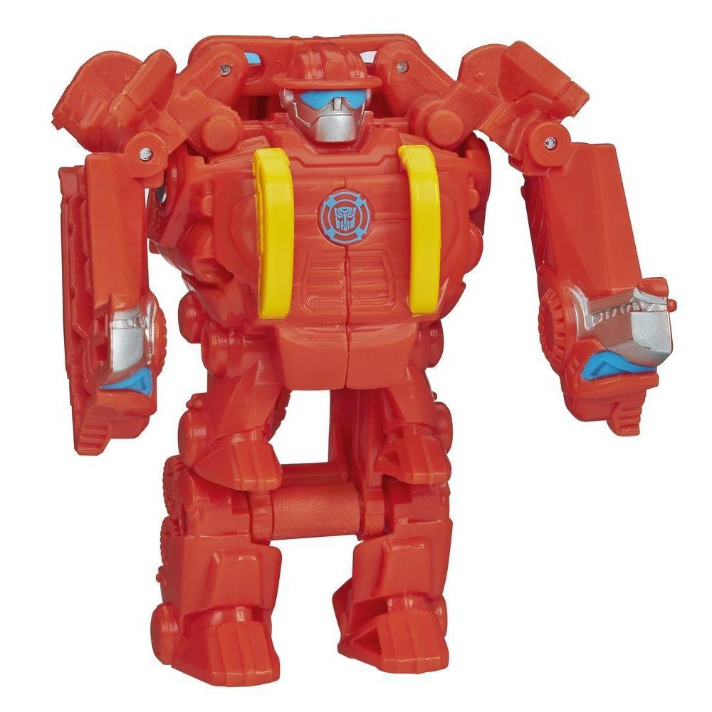 Playskool Transformers Rescue Bots Heatwave the Rescue Dinobot Figure
