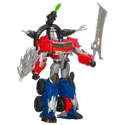 Transformers Prime Beast Hunters Ultimate Class Beast Hunter Optimus Prime Figure