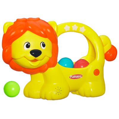 PLAYSKOOL POPPIN' PARK LEARN 'N POP LION Toy