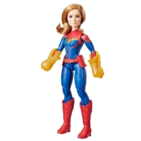 Marvel Captain Marvel Movie Cosmic Captain Marvel Super Hero Doll from Captain Marvel Movie (Ages 6 and up)