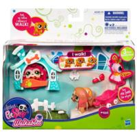 LITTLEST PET SHOP Walkables - Dog Pet Set
