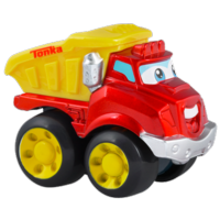 TONKA CHUCK & FRIENDS CHUCK THE DUMP TRUCK Die Cast Metal Truck