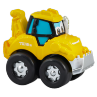 TONKA CHUCK & FRIENDS DIGGER THE DOZER Die Cast Metal Truck
