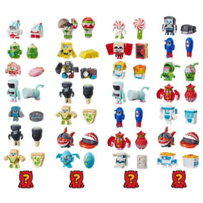 Transformers Toys BotBots Series 2 Swag Stylers 8-Pack – Mystery 2-In-1 Collectible Figures! Kids Ages 5 and Up (Styles and Colors May Vary) by Hasbro Product