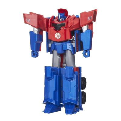 Transformers Robots in Disguise Hyper Change Heroes Optimus Prime Figure