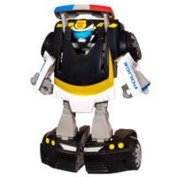 TRANSFORMERS RESCUE BOTS PLAYSKOOL HEROES CHASE THE POLICE-BOT