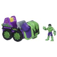 Playskool Heroes Marvel Super Hero Adventures Smash-Mobile Vehicle with Hulk Figure