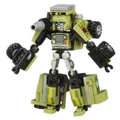 KRE-O Transformers KREON Battle Changer Autobot Hound Set