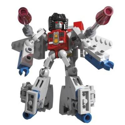 KRE-O Transformers KREON Battle Changers Starscream Set