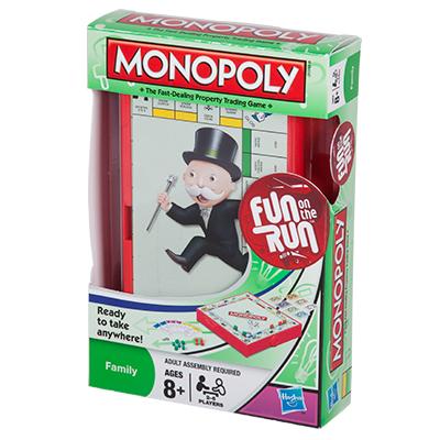 TRAVEL MONOPOLY (FUN ON THE RUN)