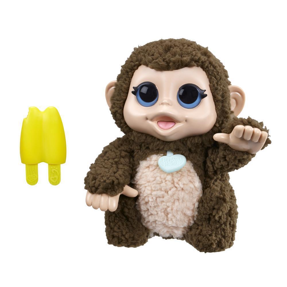 FurReal Friends Lil' Big Paws Giddy Banana Monkey