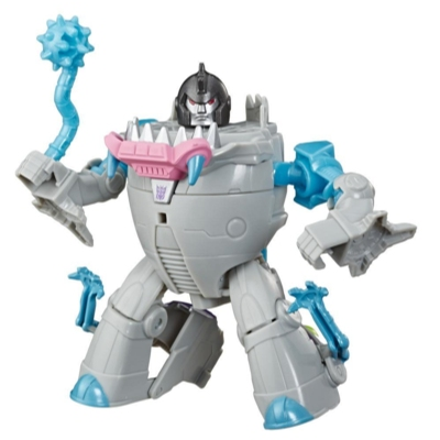 Transformers Toys Cyberverse Action Attackers Warrior Class Gnaw Action Figure Product