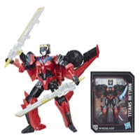 Transformers Generations Titans Return Deluxe Windblade and Scorchfire