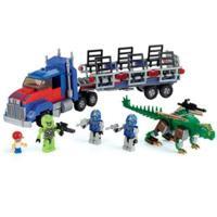 KRE-O Transformers Age of Extinction Optimus Prime Dino Hauler Set