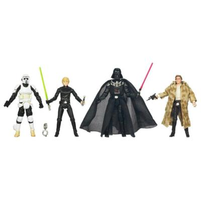 STAR WARS Blu-Ray Release Commemorative Figure and Mini-Poster Collection EPISODE VI RETURN OF THE JEDI Set