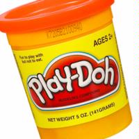 PLAY-DOH Compound (Orange)