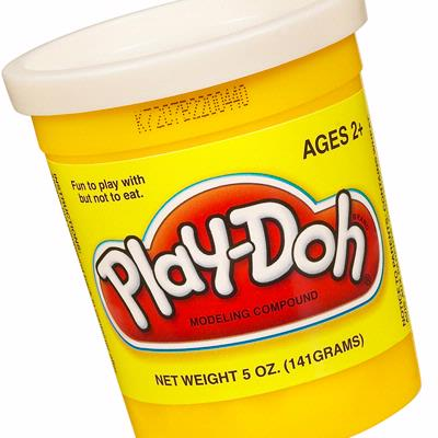PLAY-DOH Compound (White)