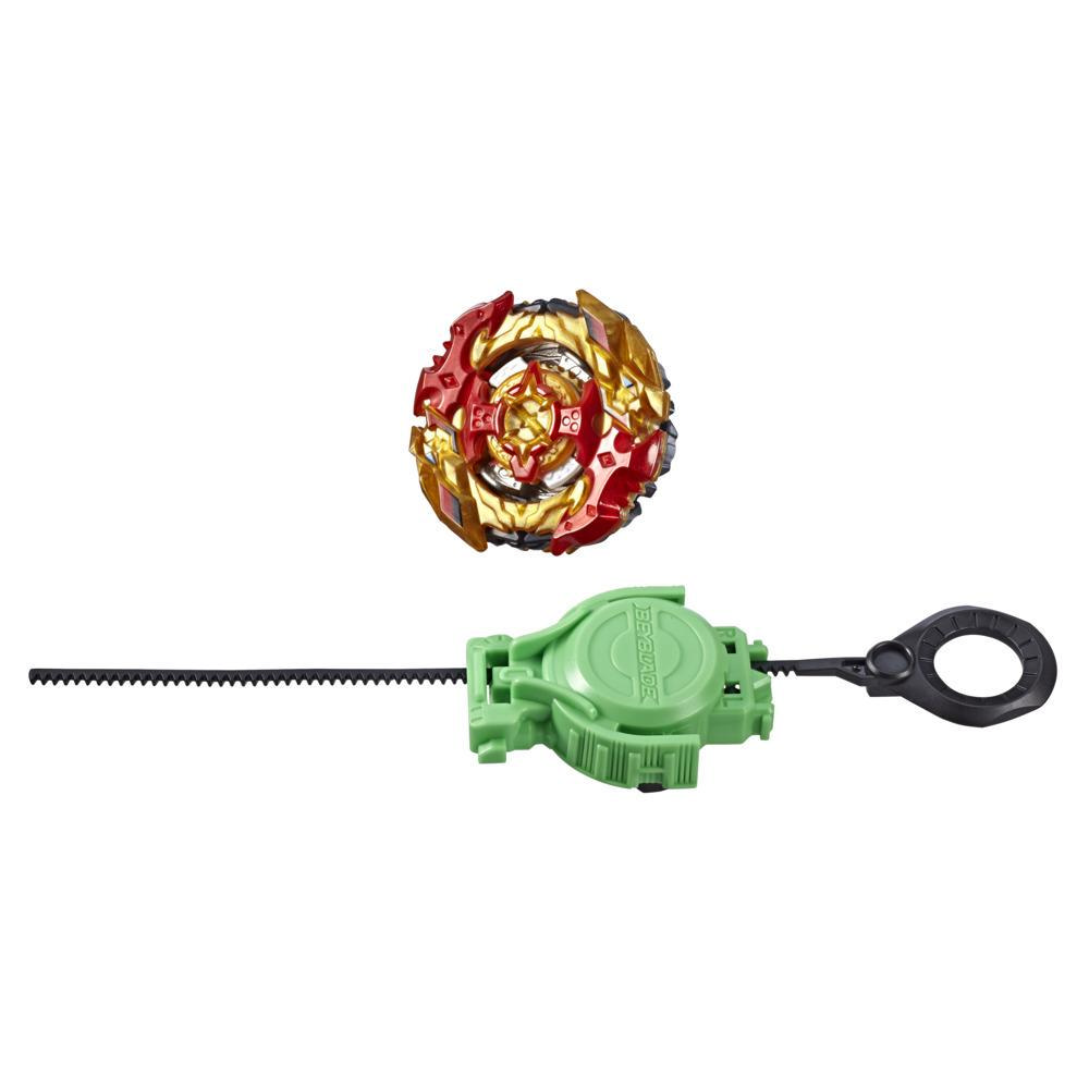 Beyblade Burst Turbo Slingshock Turbo Spryzen S4 Starter Pack -- Right/Left-Spin Battling Top Toy and Launcher