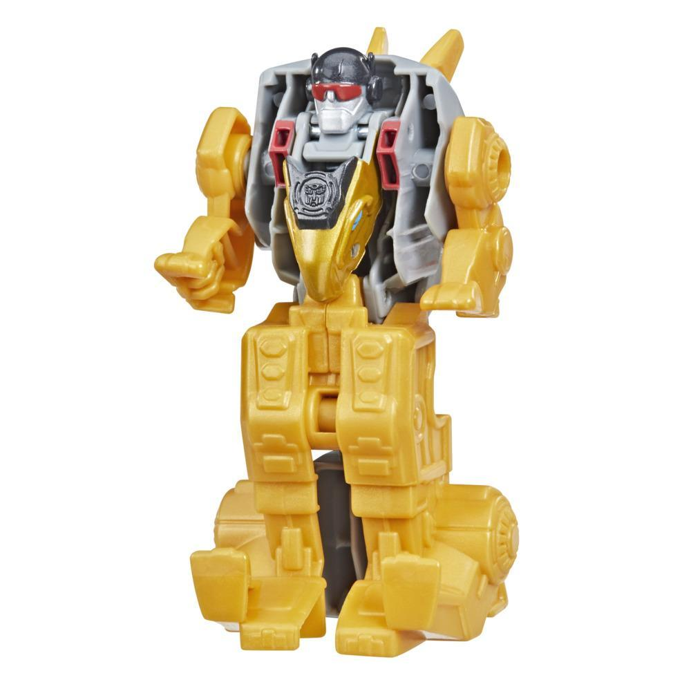 Transformers Dinobot Adventures Dinobot Strikers Dinobot Snarl with Tail Pounding Action, 2.5-Inch Toy, Ages 3 and Up