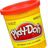 PLAY-DOH Compound (Bright Red)