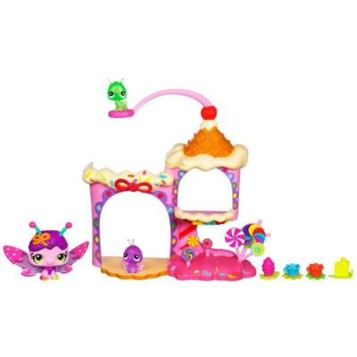 LITTLEST PET SHOP Fairies CANDYSWIRL DREAMS SPRINKLE PALACE Playset