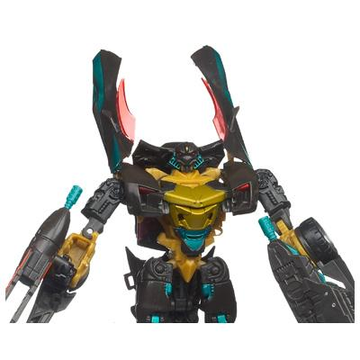 TRANSFORMERS DARK OF THE MOON MECHTECH Deluxe Class DARKSTEEL