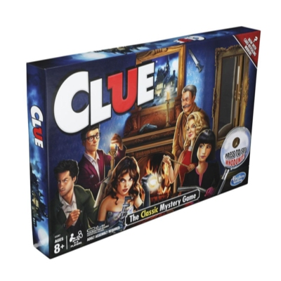 Clue Game Reveal With Mirror