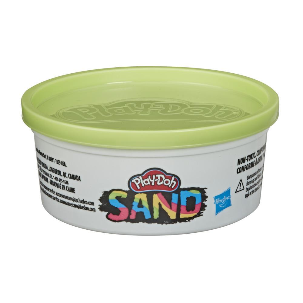 Play-Doh Sand Green-Yellow Single 6-Ounce Can of Non-Toxic Play Sand for Kids 3 Years and Up
