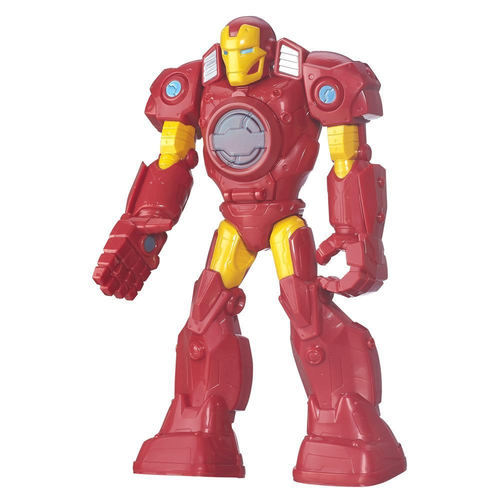 Playskool Heroes Marvel Super Hero Adventures Mech Armor Iron Man