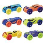 Nerf Nitro Foam Car 6-Pack (Pack 2)