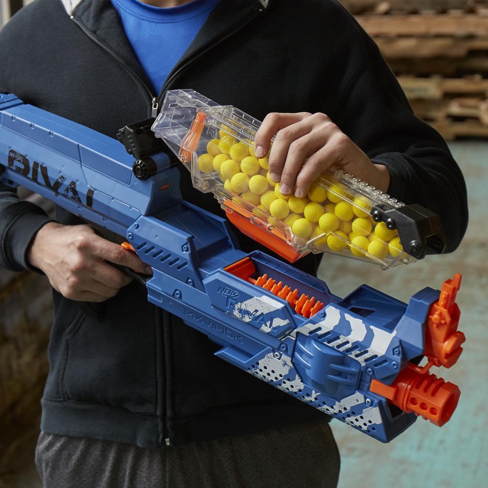 Nerf Rival Nemesis MXVII-10K blue