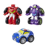 Playskool Heroes Transformers Rescue Bots Flip Racers Griffin Rock Racing Team