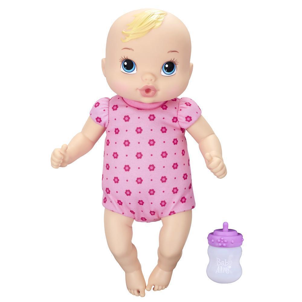 Baby Alive Luv 'n Snuggle Baby Doll - Blonde Hair