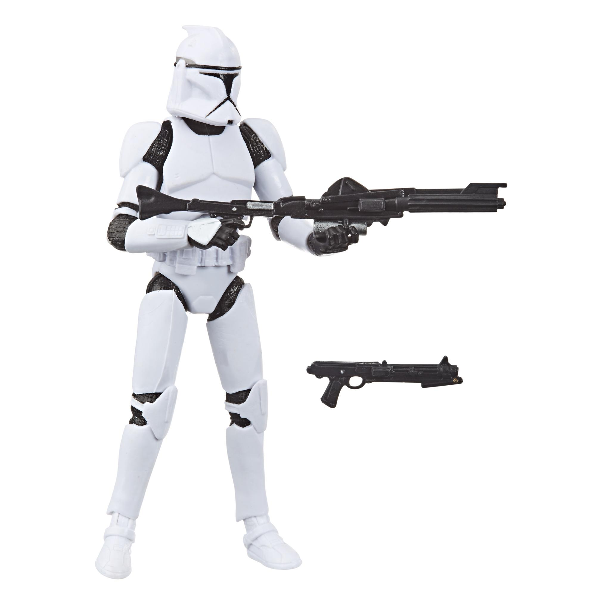 Star Wars The Vintage Collection Clone Trooper Toy, 3.75-inch Scale Star Wars: Attack of the Clones Figure