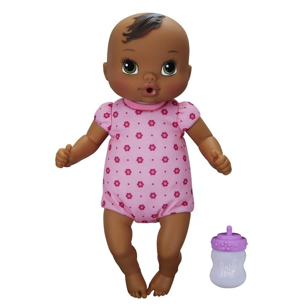 Baby Alive Luv 'n Snuggle Baby Doll - Dark Brown Hair