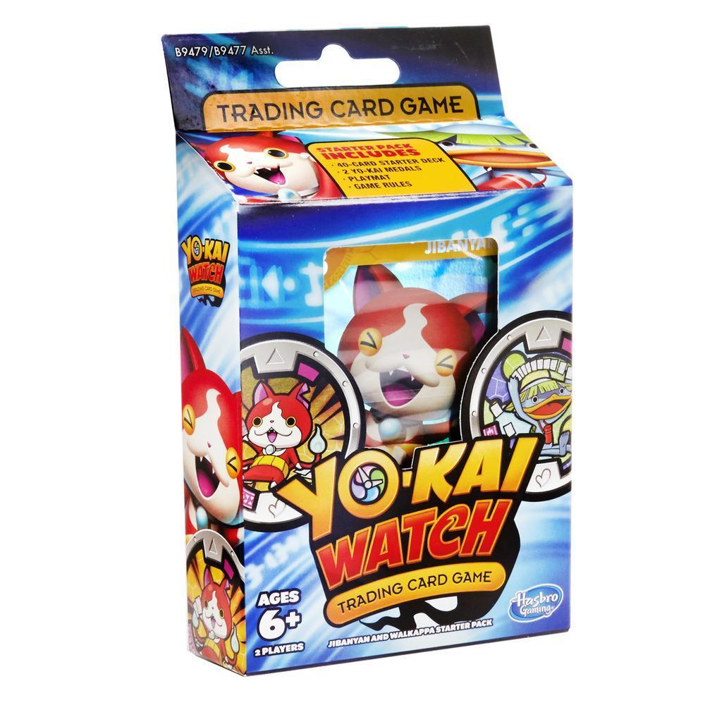 Yo-kai Watch Trading Card Game Jibanyan and Walkappa Starter Pack