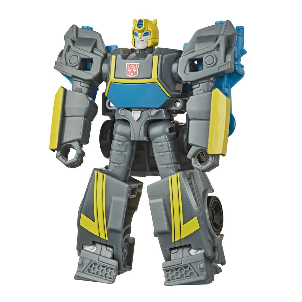 Transformers Bumblebee Cyberverse Adventures Action Attackers Scout Class Stealth Force Bumblebee Action Figure, 3.75-inch