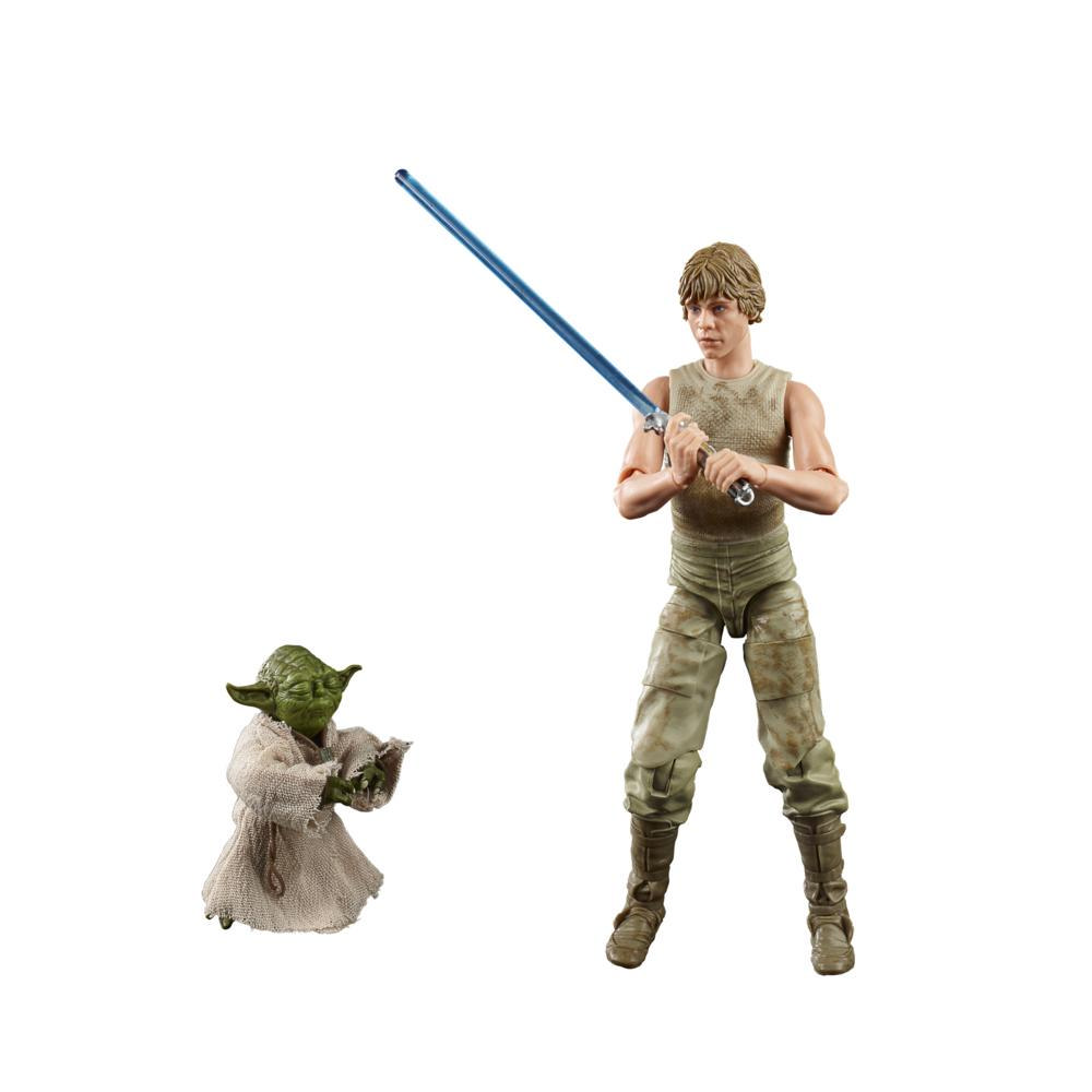 Star Wars The Black Series Luke Skywalker and Yoda (Jedi Training) 6-Inch-Scale Collectible Figures, Kids Ages 4 and Up