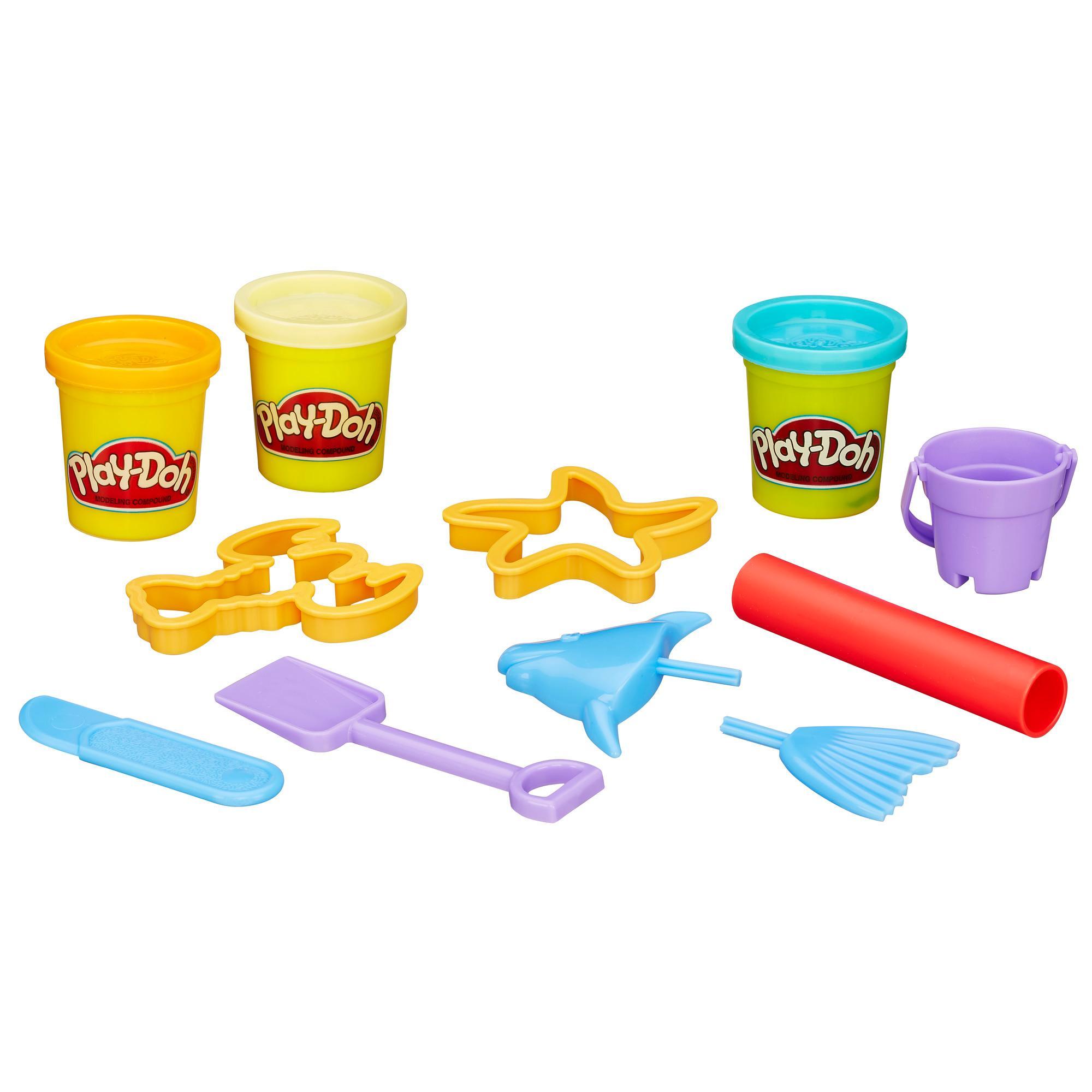 PLAY-DOH Beach Creations Mini Bucket
