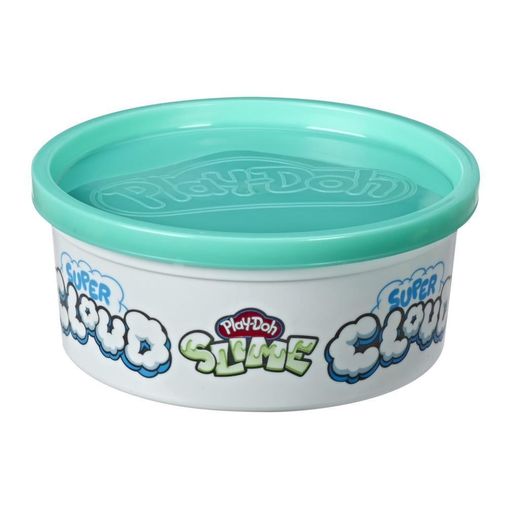 Play-Doh Super Cloud Single Can of Blue Fluffy Slime Compound for Kids 3 Years and Up