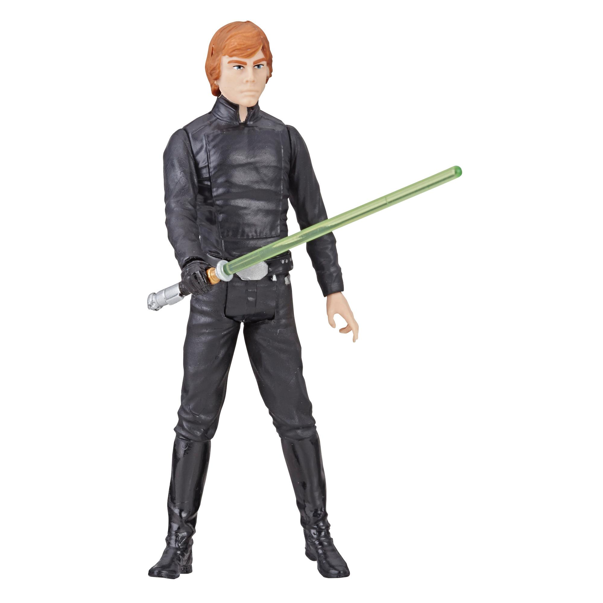 Star Wars Galaxy of Adventures Luke Skywalker Figure and Mini Comic