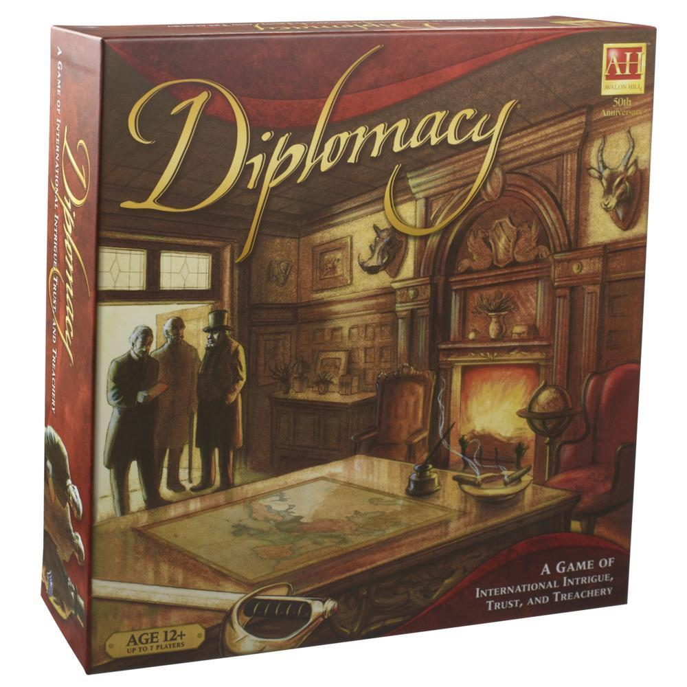 Avalon Hill Diplomacy Cooperative Strategy Board Game, Ages 12 and Up, 2-7 Players