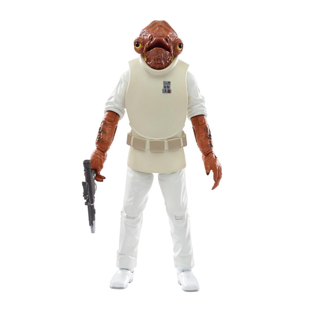 Star Wars The Black Series Admiral Ackbar Toy 6-Inch-Scale Star Wars: Return of the Jedi Figure, Kids Ages 4 and Up