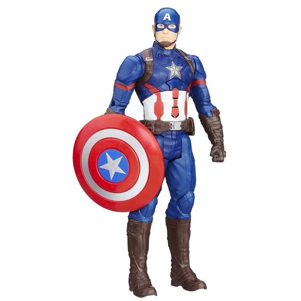 Marvel titan hero series captain america electronic figure marvel